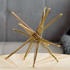 Wire Exploding Star Sculpture