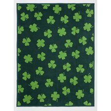 Good Luck Cotton Blend Throw Blanket