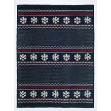 Classic Fair Isle Cotton Blend Blanket