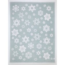 Snowflakes Cotton Blend Blanket