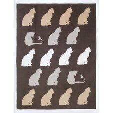 Feline Friends Cotton Blend Blanket
