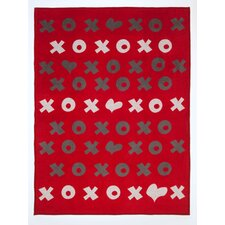 Hugs and Kisses Cotton Blend Blanket