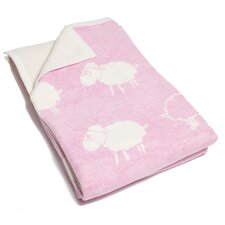 Counting Sheep Cotton Blend Blanket