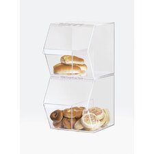 Classic Stackable Bin with Divider