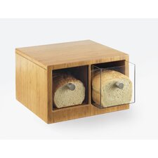 2 Drawer Bamboo Bread Case