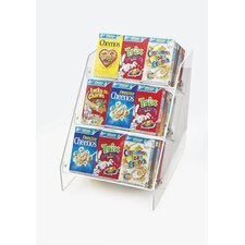 Classic Angled Cereal Box Merchandiser
