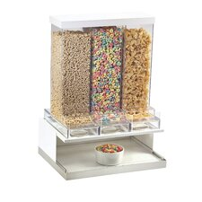Luxe Triple Canister Mod Cereal Dispenser