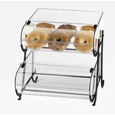 Iron 2 Tier Rounded Dispenser