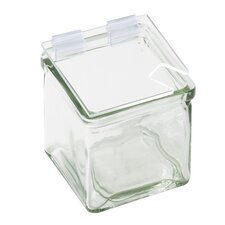 Square Jar Lid with Notch