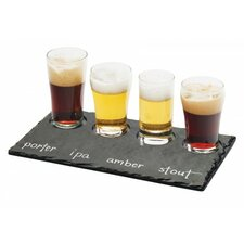 Faux Slate Beer Flight