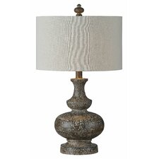 """Linden 28"""" H Table Lamp with Drum Shade"""
