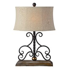 """Houston 26.5"""" Table Lamp with Oval Shade"""