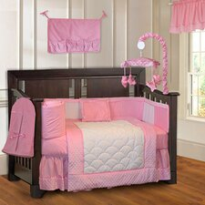 Minky Baby 10 Piece Crib Bedding Set