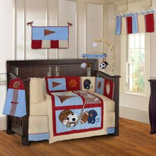 Sports Champion 10 Piece Crib Bedding Set