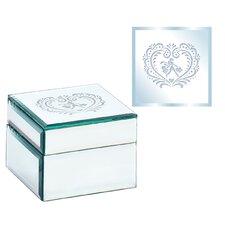 Square Shopping Girl Design Jewelry Box