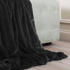 Luxe Mink Faux Fur Throw Blanket