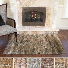 Luxury Long Fur Hand-Woven Area Rug