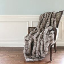 Faux Fur Lounge Throw Blanket