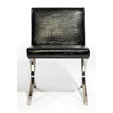 Croc Armless Lounge Chair (Set of 2)