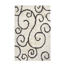 Buckingham Hand-Tufted Ivory Area Rug