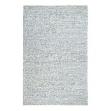 Ridgeview Ranch Hand-Woven Pale Blue/White Area Rug