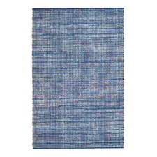 Boho North Hand-Woven Blue Area Rug