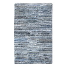 Fame Hand-Tufted Blue Area Rug