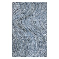 Stardust Hand-Tufted Blue Area Rug
