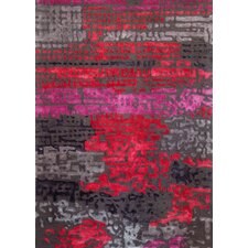 Boardwalk Red Area Rug