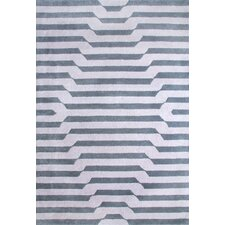 Festival Hand-Tufted Pewter/Grey Area Rug