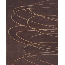 Chelsea Brown / Tan Contemporary Rug