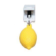 4-tlg. 3 cm Tischtuchbommel-Set Zitrone