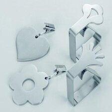 4-tlg. Tischtuchhalter-Set Symbol