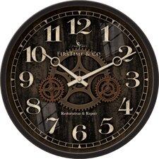 "12"" Industrial Gears Wall Clock"