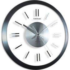"14"" Modish Gunmetal Wall Clock"