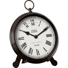Station Pocket Table Clock