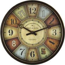 """12"""" Color Wheel Wall Clock"""