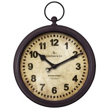 "15.5"" Metal Pocket Watch Clock"