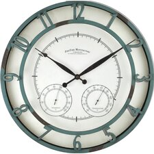 "18"" Laguna Outdoor Wall Clock"