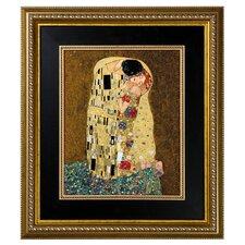 Porzellanbild Der Kuss von Gustav Klimt - 60,5 x 53 cm