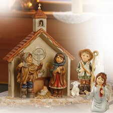 6 Piece Ein Wintermärchen Nativity Scene Figure Set