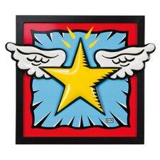Gerahmtes Wandbild SuperStar! - 43,5 x 51 cm