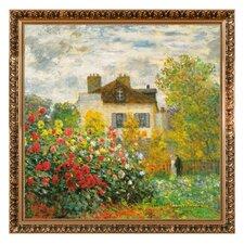 Gerahmtes Wandbild von Claude Monet, Kunstdruck