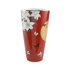 Vase Lilies Red Artis Orbis