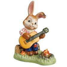 Dekorationsfigur Hase spielt Gitarre