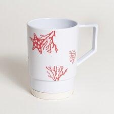 Decorated Non-skid 12 oz. Nesting Mug (Set of 6)