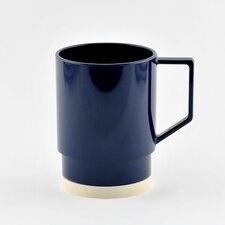 Non-skid 12 oz. Nesting Mug (Set of 4)