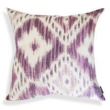 Ikat Designer Cotton Throw Pillow