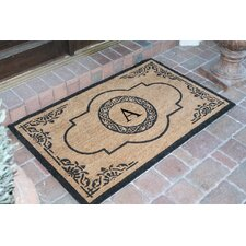 First Impression Abrilina Monogrammed Doormat