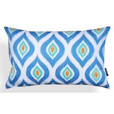 Lydia Ogee Applique Cotton Lumbar Pillow